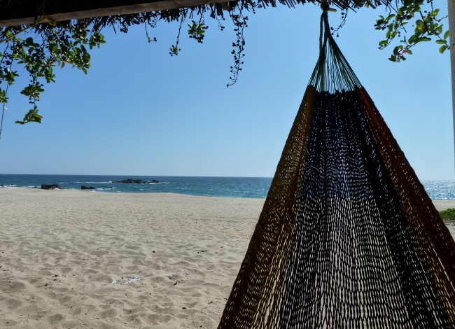 Thinking about nothing in Puerto Escondido