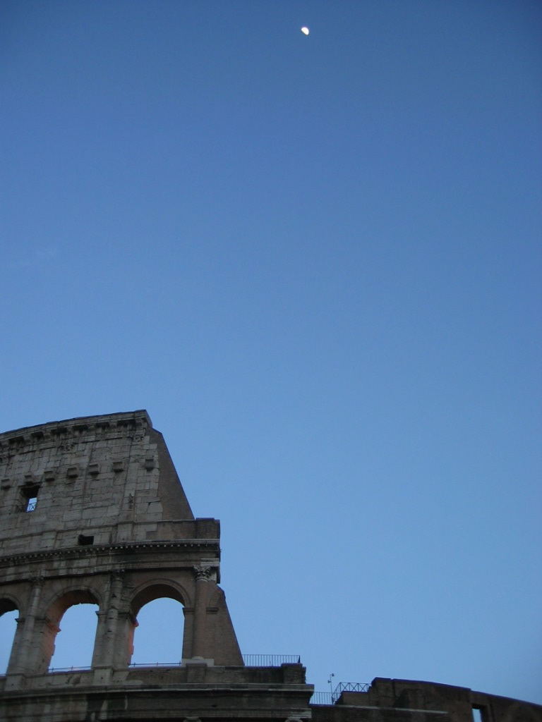 Il Colosseo, an evening before flying to Cairo.