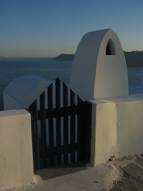 Bonus photo: Sunset in Oia, Greece (2004)